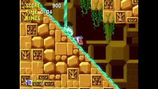 Sonic the Hedgehog - Labyrinth 3: 0:33 (Speed Run)