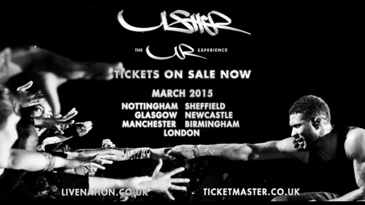 Usher Tour  Uk