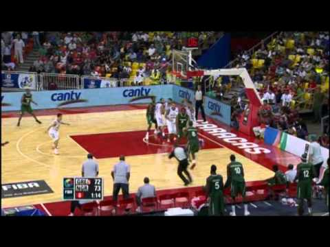 Greece Vs. Nigeria / 2012 FIBA Olympic Qualifying Tournament: Quarter-Final