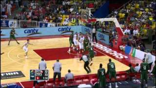 Greece Vs. Nigeria / 2012 FIBA Olympic Qualifying Tournament: Quarter-Final