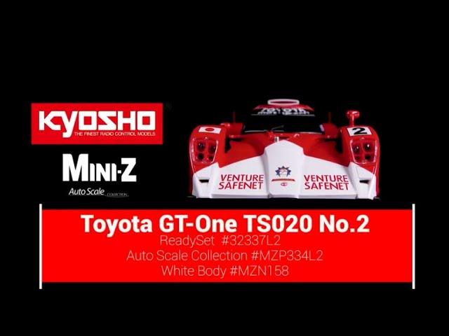 // K.MZP334L2 W-LM Kyosho AUTOSCALE Mini-Z TOYOTA LM GT-ONE TS020 No.2