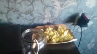 Картошка на кипятильнике.зоновская кухня