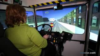Take a turn in TTC bus simulator