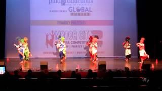 Motor City Bhangra Juniors @ Motor City Bhangra 2014