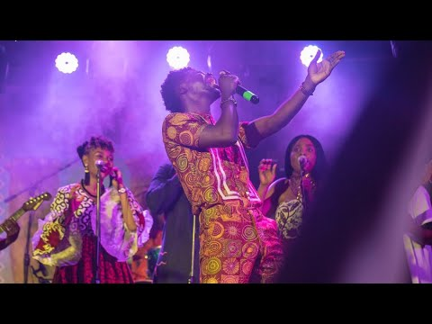 Kuami Eugene's Fire Performance at Okyeame Kwame's Made in Ghana Album Concert