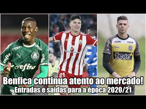 Benfica 2020-21 ● Benfica continua muito activo no mercado! from YouTube · Duration:  12 minutes 39 seconds
