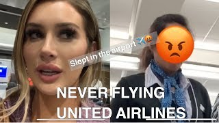 EXPOSING UNITED AIRLINES ( WORST EXPERIENCE EVER)