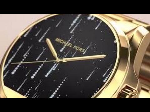 684e262b95f4 Michael Kors Access Touch Screen Rose Gold Bradshaw Smartwatch MKT5004  Watch Review