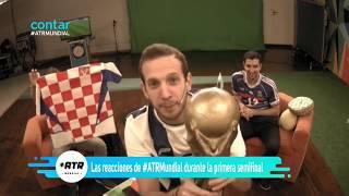 Reacciones Francia vs Bélgica Mundial Rusia 2018 - #ATRMundial