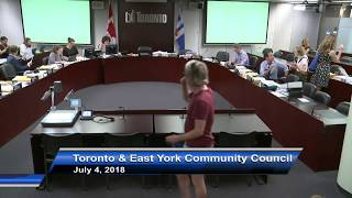 Toronto and East York Community Council - July 4, 2018 - Part 2 of 2