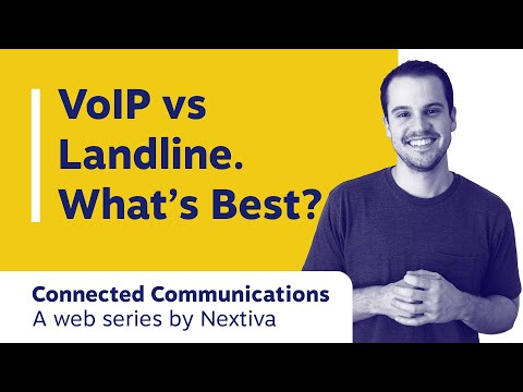 VoIP Vs Landline (& The Key Differences)
