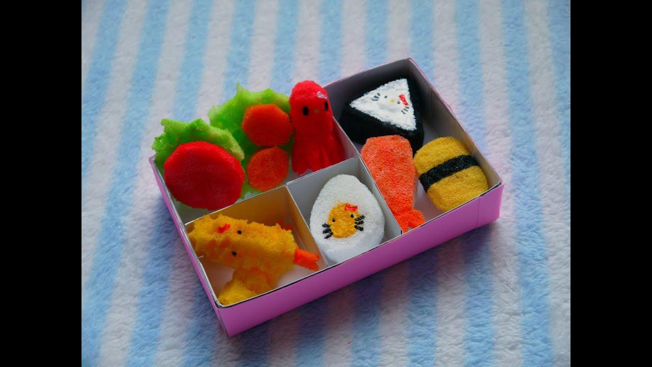 Squishy Hello Kitty Bento Box - YouTube