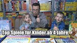 Top Spiele / Kinderspiele für Kinder ab 4 Jahre - Fehlt was? ;-)
