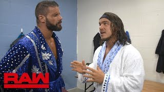 Chad Gable shows Bobby Roode his prototype robe: Raw Exclusive, Nov. 5, 2018