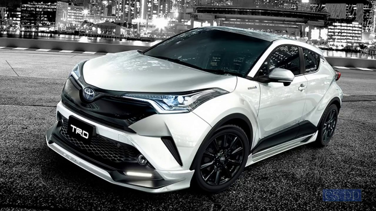 2017 Toyota C Hr Trd Tuning Parts Youtube