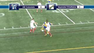 Acton Boxborough Varsity Boys Soccer vs Nashoba 10/5/13