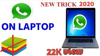Gambar cover How to download whatsapp on pc LAPTOP window 7 8 8.1 and xp