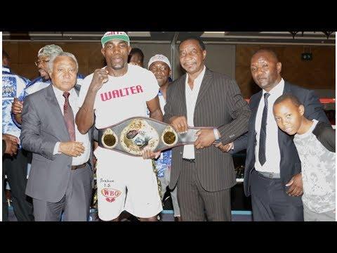 Namibia: boxing - ruthless kautondokwa closer to world title [ Daily News ]