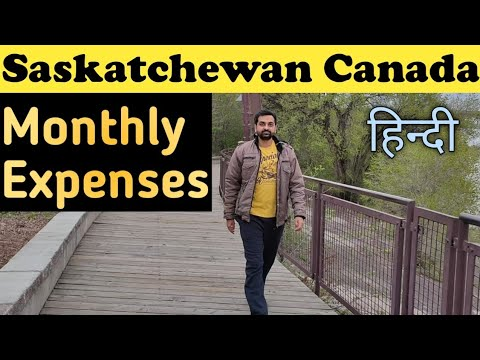 Monthly living cost in Canada | Cost of living in Saskatchewan