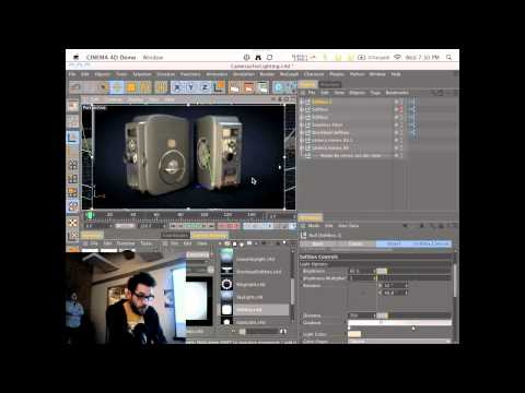 Real World Lighting in C4D with Nick Campbell