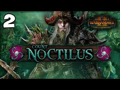 THE STAR METAL HARPOON! Total War: Warhammer 2 - Vampire Coast Campaign - Count Noctilus #2
