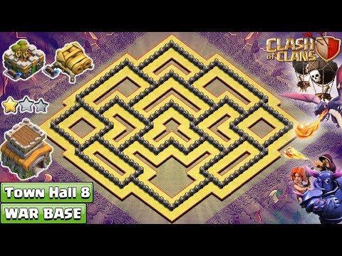 NEW Clash Of Clans Town Hall 8 (TH8) War Base 2018 !! TH8 Base [DEFENSE] – Clash Of Clans