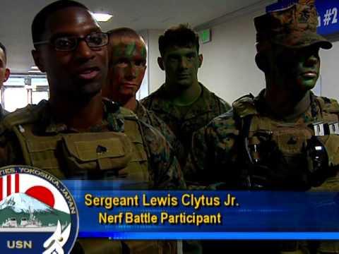 Marine Nerf War