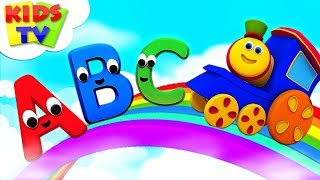 Kindergarten Educational Learning Videos | Nursery Rhymes For Children | Bob The Train - Kids TV