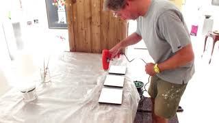 Panelen prepareren (Roman Reisinger techniek)