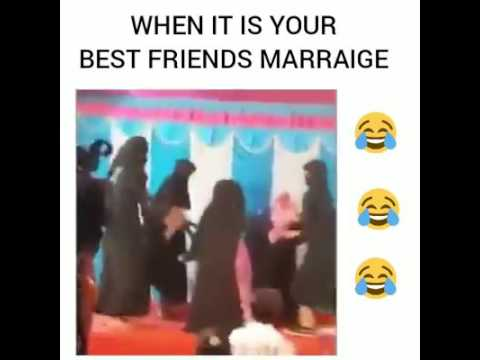 When it is your best friend's marriage