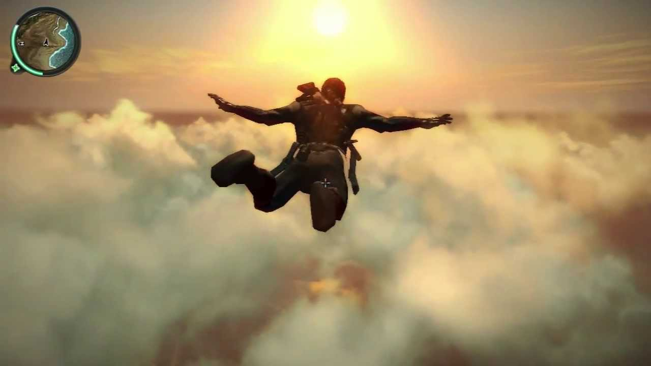 JUST CAUSE 2 - Man Of Steel / Superman / Fast Flying Mods ...