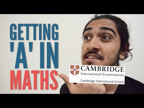 How To Get An 'A' At AS Level (MATHS)