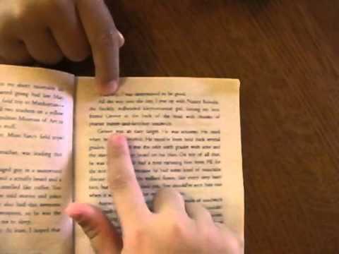 Cole Reading The Lightning Thief RL 4 8 Upside Down PI