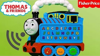 THOMAS AND FRIENDS ABC Thomas | Learning ABC letters | Educational Toy Train  for Babies Toddlers