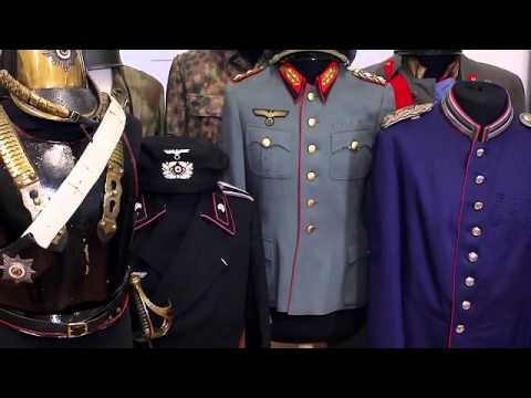 Fine military antiques, at Helmut Weitze in Hamburg, Germany