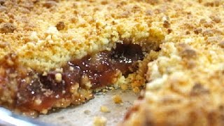Cranberry Crumble Pie - I Heart Recipes