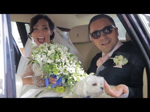 Hothorpe Hall & The Woodlands wedding film - Santiago and Monika highlights