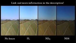ND Filters - Why they are helpful for your Phantom / Neutral Density Test Review