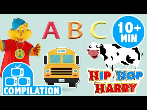 Wheels On The Bus And More | Nursery Rhyme Complilation | From Hip Hop Harry
