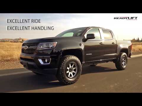 """Chevy Colorado 2015-2019 GMC Canyon 2.5/"""" Front 2/"""" Rear Full STEEL Level Lift Kit"""