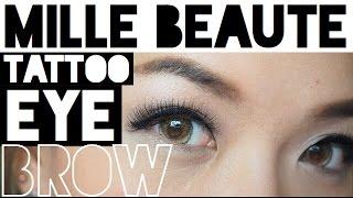[Tutorial + Review] Mille 6D tattoo brow color เจลสักคิ้ว สวยได้เหมือนสักคิ้วไม่ต้องเจ็บ(, 2016-03-30T16:11:09.000Z)