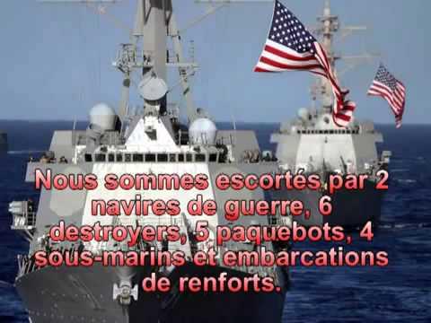 Echange radio maritime entre un bateau américain et des espagnols