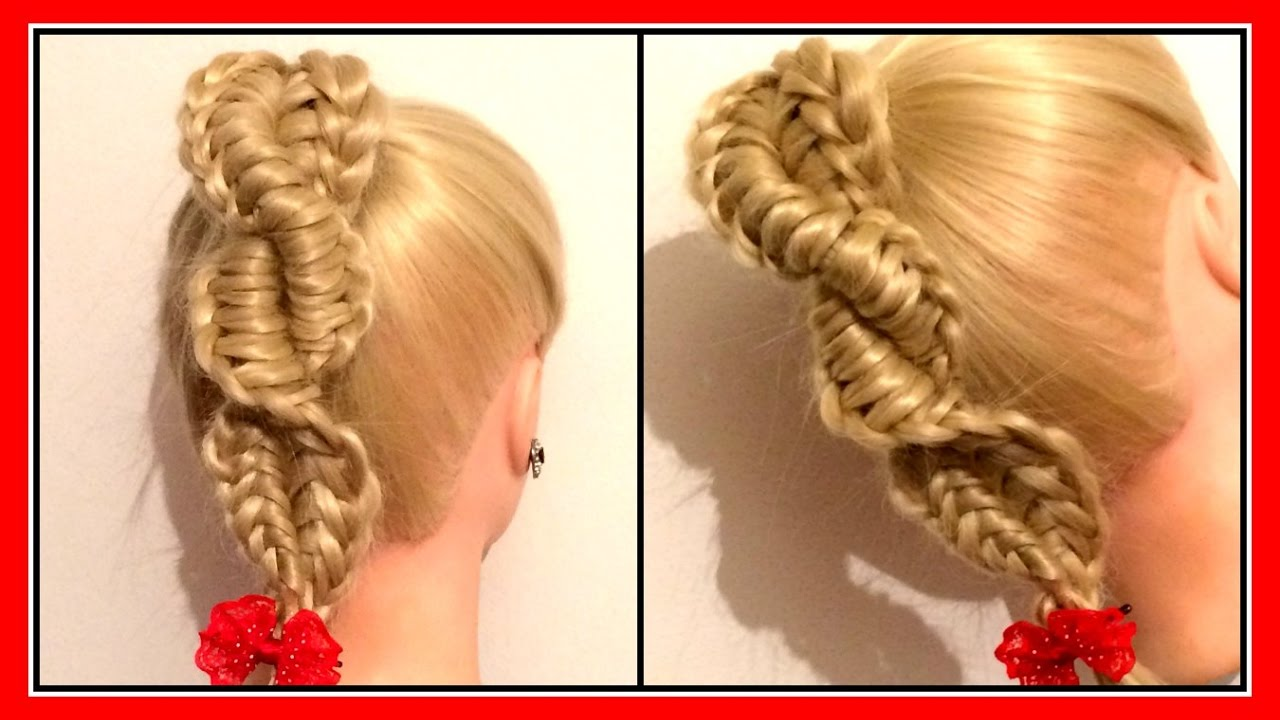 The Twisted Reverse Chinese Ladder Braid Hairglamour