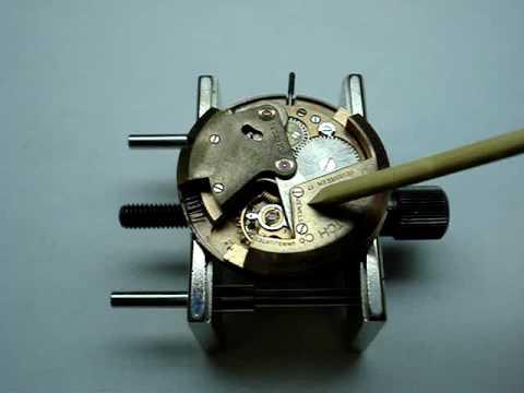 Watch Wisdom TV - 1950's Self Winding Mechanism