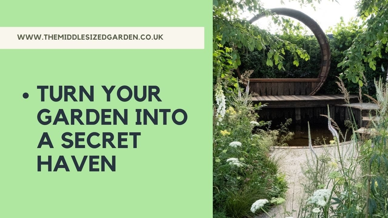 Garden Privacy How To Make Your Garden Feel More Private Youtube