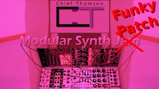 【Funky Eurorack Patch_08】 - Robaux 3PT with 3 oscillators & Pittsburgh DHO driven by Metropolis