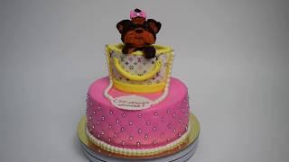 Торт на заказ Собачка в сумочке (Tortlend.ru)