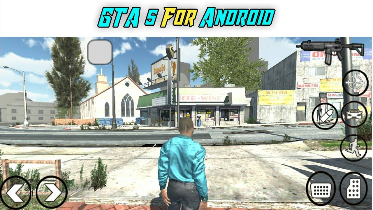 How To Download And Play GTA 5 in Android Mobile | GTA 5 ...