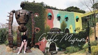 Inside The Studio Ghibli Museum + Tokyo Cat Cafe!   Solo Travel Japan Vlog