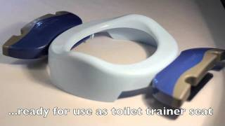 Potette Plus - Toilet Trainer Seat Setting.mov
